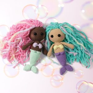 Little amigurumi mermaid crochet pattern - Free patterns by Amigurumi Today