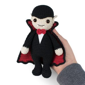 Free Halloween Amigurumi Vampire crochet pattern designed by Amigurumi Today